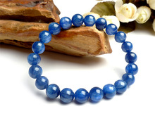 【送料無料】lizifangカイアナイトキャットアイlizifang genuine blue natural kyanite gemstone cat eyes