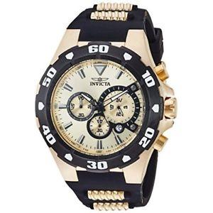 【送料無料】腕時計 ウォッチプロダイバーポリウレタンステンレススチールクロノグラフウォッチinvicta pro diver 24682 polyurethane, stainless steel chronograph watch