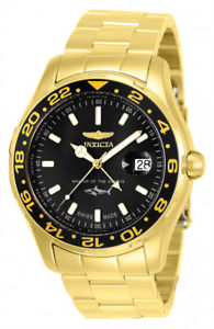 【送料無料】腕時計 ウォッチメンズプロダイバークォーツステンレススチールinvicta mens pro diver quartz 100m goldplated stainless steel watch 25822