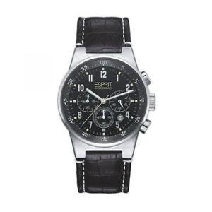 【送料無料】腕時計 ウォッチメンズブラックウォッチクロノイコライザアナログクロノグラフ
