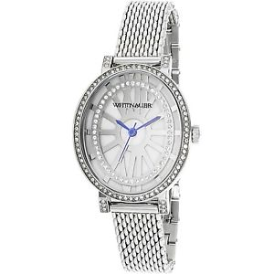 【送料無料】腕時計 ウォッチウィットワイアードシルバーステンレススチールアナログクォーツファッションウォッチwittnauer womens wn4038 silver stainlesssteel analog quartz fashion watch