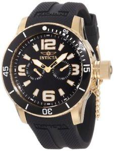 【送料無料】腕時計 ウォッチメンズkゴールドウォッチinvicta mens 1792 specialty 18k gold ionplated watch