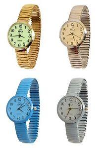 【送料無料】腕時計 ウォッチレディースデザイナーファッションウォッチラウンドエクスパンダブレスレットladies coloured expandable mab designer fashion watch round expander bracelet