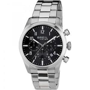 【送料無料】腕時計 ウォッチクロノorologio uomo breil tribe classic elegance ew0227 chrono bracciale acciaio nero