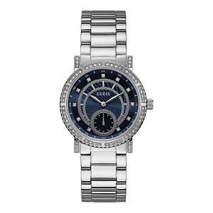 【送料無料】腕時計 ウォッチスチールケースクオーツブレスレットguess womens constellation 38mm steel bracelet amp; case quartz watch w1006l1