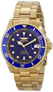 【送料無料】腕時計 ウォッチメンズプロダイバーステンレススチールinvicta mens pro diver automatic 200m gold plated stainless steel watch 8930ob
