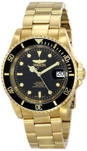 【送料無料】腕時計 ウォッチメンズプロダイバーステンレススチールinvicta mens pro diver automatic 200m gold plated stainless steel watch 8929ob