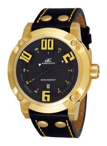 【送料無料】腕時計 ウォッチケイメンズフラッシュコレクションクォーツレザーウォッチneues angebotadee kaye mens blitz collection 100m quartz leather watch ak7281mg