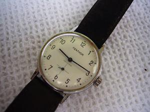 【送料無料】腕時計 ウォッチリレーmontre mcanique centhor fonctionne, nettoyer, hc 34 mm 2