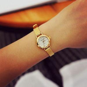 【送料無料】腕時計 ウォッチアナログgold quartz analogue wrist watch for her