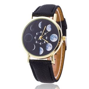 【送料無料】腕時計 ウォッチムーンフェイズゴシックウィッチマジックmoon phases wristwatch gothicpaganwitchmagicgoddessmoon child