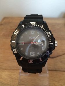 【送料無料】腕時計 ウォッチシリコーンクリスタルゼリーブラック