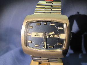【送料無料】腕時計 ウォッチメッカニコディbreil orologio meccanico acciaio con bracciale day date di forma nuovo nos 220