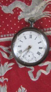 【送料無料】腕時計 ウォッチノートルダムデュクロノメータancienne grosse montre a gousset chronometre 40