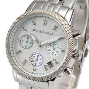 【送料無料】腕時計 ウォッチミハエルリッツウォッチシルバーmichael kors womens ritz watch silver