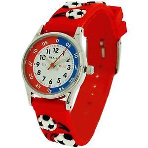 【送料無料】腕時計 ウォッチシリコンサッカーreflex time teacher kids 3d silicone football watch refk0008 telling time award