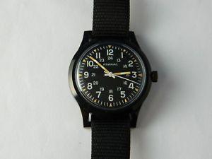 【送料無料】腕時計 ウォッチメンズレアウォッチneues angebotadanac military 17jewels mens wrist watch working rare