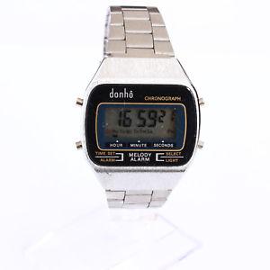 【送料無料】腕時計 ウォッチベルクオーツデジタルビンテージbelle montre quartz digitale vintage dunh a1017