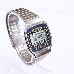 【送料無料】腕時計 ウォッチベルクオーツデジタルビンテージbelle montre quartz digitale vintage monditime a1004