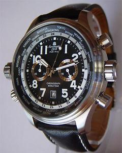 腕時計 ウォッチディフェンダーワールドツアーフライヤークロノxxldefender worldtourflieger chrono a1113