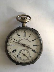 【送料無料】腕時計 ウォッチノートルダムデュキャップアルジェントgousset chronomtre bregille argent ancienne montre
