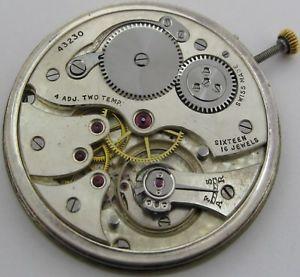 【送料無料】腕時計 ウォッチフラットポケットウオッチムーブメントクロノメーター