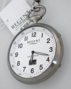 腕時計 ウォッチチェーンポケットウォッチユーロバーラジオneues angebotregent funktaschenuhr funkuhr mit kette uvp 168,00 eur 3 bar wr gut lesbar