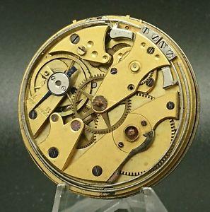 【送料無料】腕時計 ウォッチドノートルダムデュキャップエリーヴィンテージancien mouvement de montre gousset sonnerie rviser old vintage watch 58