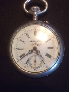 【送料無料】腕時計 ウォッチアンティークレビンシリンダギアポケットウォッチ