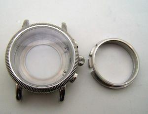 【送料無料】腕時計 ウォッチサファイアスイスboitier acier pour valjoux 7750 etanche 5atm 2 verres saphirs swiss made