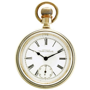腕時計 ウォッチウォルサムポケットウォッチサイズコインシルバーケース