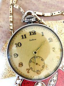 【送料無料】腕時計 ウォッチポケットウオッチシルバーlwc luxus taschenuhr uhr silber 800 qualitt extra 15 rubis mit uhrkette