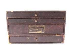 【送料無料】腕時計 ウォッチエルギンキャビネットold elgin watch parts four drawer cabinet