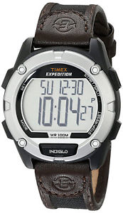 【送料無料】腕時計 ウォッチ#デジタルクロノウォッチナイロンレザーストラップ timex t49948 expedition men039;s digital chrono watch nylon leather strap