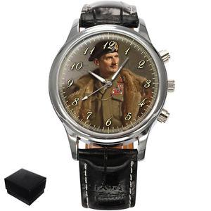 【送料無料】腕時計 ウォッチフィールドバーナードモントゴメリーメンズマーfield marshal bernard montgomery gents mens wrist watch gift