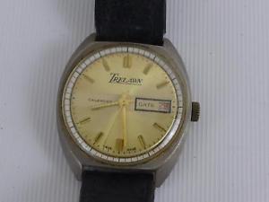 【送料無料】腕時計 ウォッチベッドブレックファストカレンダー#ビンテージref165dx 94 trelawn calendar vintage wristwatch men039;s
