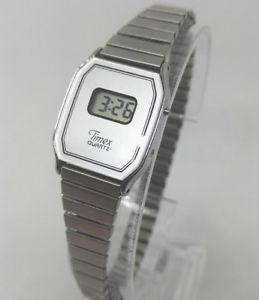 【送料無料】腕時計 ウォッチビンテージレディースデジタルクォーツvintage ladies timex digital quartz watch
