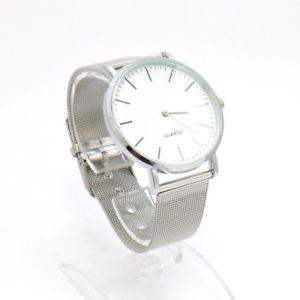 【送料無料】腕時計 ウォッチソロテンポカラーアルジェントビアンコorologio uomo alluminio ultraleggero solo tempo color argento quadrante bianco