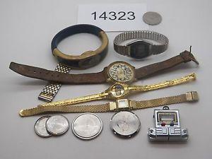 【送料無料】腕時計 ウォッチビンテージウォッチvintage watch mixed broken lot watches 14323