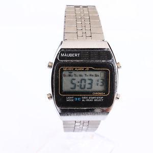 【送料無料】腕時計 ウォッチベルクオーツデジタルビンテージbelle montre quartz digitale vintage maubert a1009