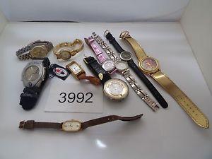 【送料無料】腕時計 ウォッチクォーツメンズスポーツビンテージジュエリーウオッチロットvintage jewelry watch lot of 10 quartz mens womens all sport  3992