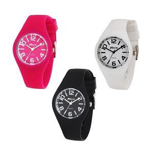 【送料無料】腕時計 ウォッチラヴェルレディースシリコンピンクホワイトブラック