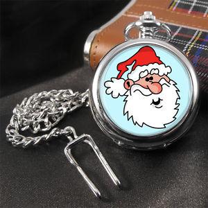 【送料無料】腕時計 ウォッチサンタクリスマスポケットウォッチ