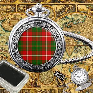 【送料無料】腕時計 ウォッチスコットランドタータンチェックポケットウォッチ