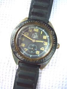 【送料無料】腕時計 ウォッチダイバーデュークリレーmontre mcanique diver plongeuseduke, fonctionne hc 36 mm