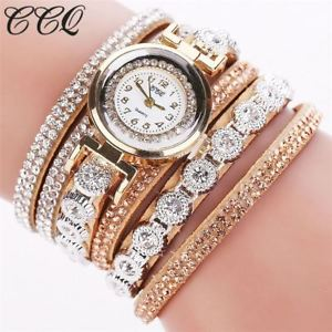 【送料無料】腕時計 ウォッチファッションラインストーンブレスレットレディースクォーツカジュアルウォッチfashion luxury rhinestone bracelet watch ladies quartz watch casual women wristw