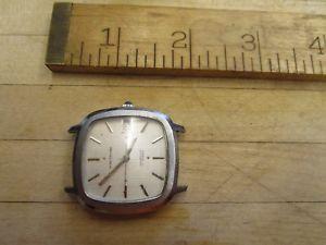 【送料無料】腕時計 ウォッチビンテージウォルサムvintage waltham 17 jewel square wrist watch