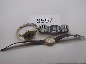 【送料無料】腕時計 ウォッチビンテージvintage watch mixed broken lot watches 8597