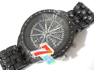 【送料無料】腕時計 ウォッチブラックメタルブレスレットカラーライトメンズアイテムアウトアイス