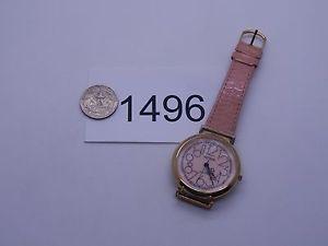 【送料無料】腕時計 ウォッチビンテージジュエリーレディースクォーツピンクvintage jewelry watch ladies unitron quartz pink runs good 1496